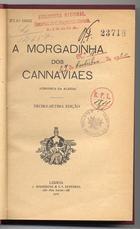 A morgadinha dos canaviais, Lisboa, 1920