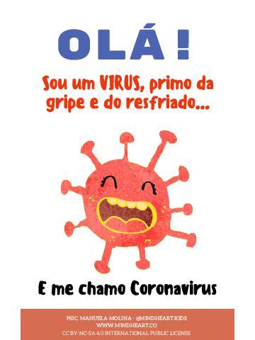 Cartilha Infantil: Coronavírus