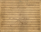 PORTUGAL,Marcos,1762-1830<br/>Missa a 4 / De Marcos Antonio Portugal[Entre 1830 e 1860]. - Partitura ([42] f.) ; 231x329 mm