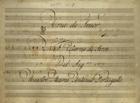 PORTUGAL,Marcos,1762-1830<br/>Aria de Tenor : Nel Ritorno di Serse / Del Sig.re Maestro Marco Antonio Portugallo[Entre 1820 e 1840]. - Partitura [4 f.] ; 230x323 mm