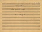 PORTUGAL,Marcos,1762-1830<br/>Minuete : para Cravo a quatro mãos / por Marcos Portugal[Entre 1860 e 1870]. - Partitura [2 f.] ; 215x295 mm