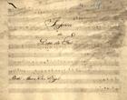 PORTUGAL,Marcos,1762-1830<br/>Sinfonia do Duca de Foá / Do Snr. Marcos Antonio Portugal[Entre 1805 e 1815]. - Partitura [4 f.] ; 230x305 mm