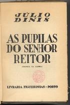 As pupilas do Senhor Reitor: crónica da aldeia, Lisboa, 19 ...