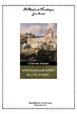 <font size=+0.1 >A Abadia de Northanger</font>
