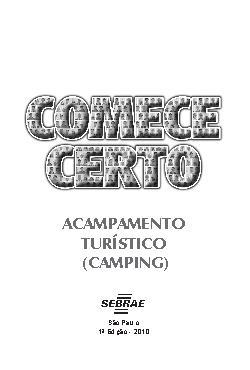 Sebrae - Acampamento e Camping Turístico