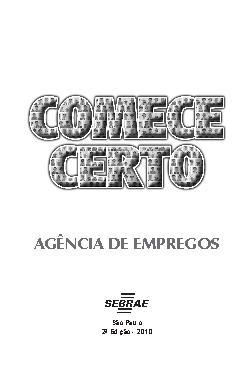 Sebrae - Agencia de Empregos