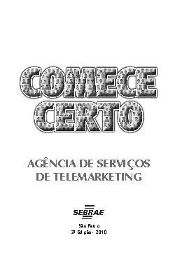 Sebrae - Agencia de Serviços de Telemarketing