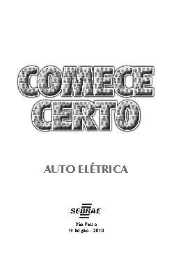 <font size=+0.1 >Sebrae - Auto Elétrica</font>