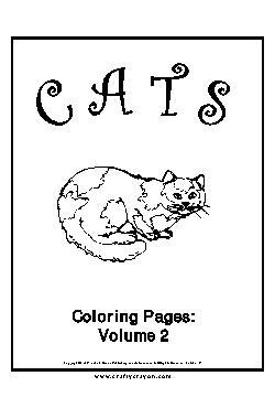 Gato Livro de Colorir - Vol.2