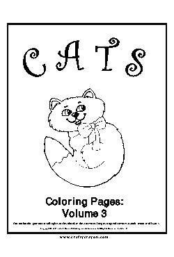 Gato Livro de Colorir - Vol.3