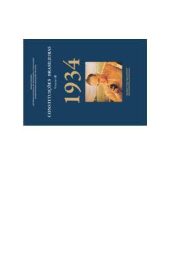 Constituições Brasileiras 03 - 1934