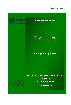 <font size=+0.1 >O Mandarim</font>