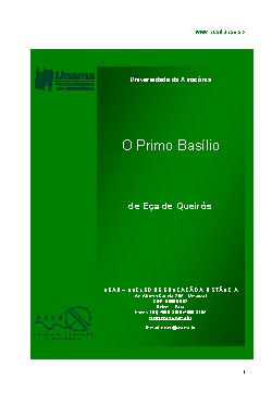 <font size=+0.1 >O Primo Basilio</font>