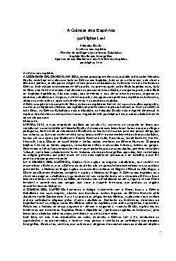 <font size=+0.1 >Ciencia dos Espiritos</font>