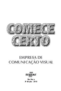 Sebrae - Empresa de Comunicação Visual