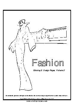 Moda Livro de Colorir Vol.2