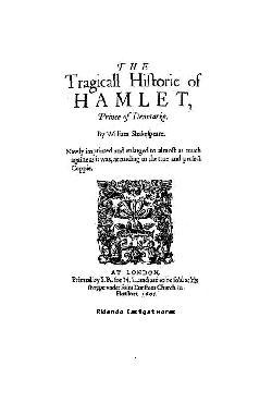 <font size=+0.1 >Hamlet</font>