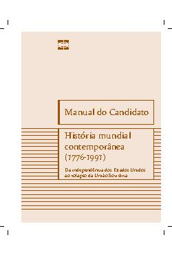 Manual de História Mundial Contemporânea