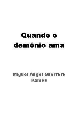 Quando o demonio ama