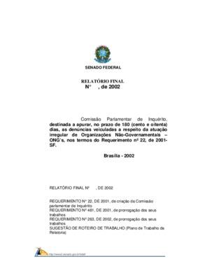 Relatório da Comissão Parlamentar de Inquérito referente a ...