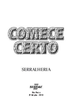 <font size=+0.1 >Sebrae - Serralheria</font>