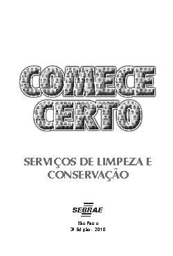 Sebrae - Servicos Limpeza Conservacao