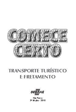 Sebrae - Transporte Turistico Fretamento