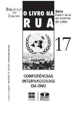O livro na rua - conferências internacionais da ONU