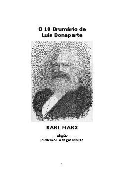 O 18 Brumário de Luís Bonaparte