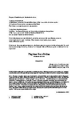 <font size=+0.1 >Páginas Recolhidas</font>