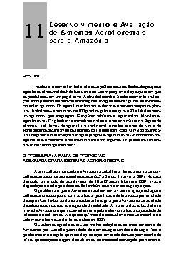 Desenvolvimento e avaliação de sistemas agroflorestais par ...