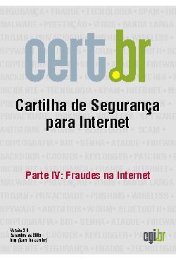 Cartilha de Segurança para Internet - Parte 04: Fraudes na ...