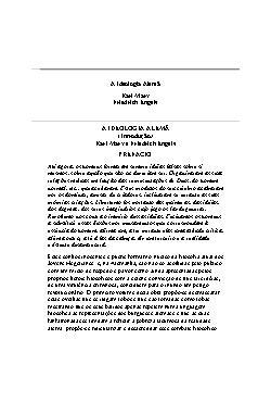 <font size=+0.1 >A Ideologia Alemã</font>
