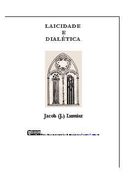 Laicidade e dialética: dois artigos  Saint-Simonianos para ...