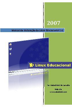 Manual de Instalação do Linux Educacional 1.0