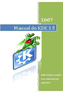<font size=+0.1 >Manual do KDE 3.5</font>
