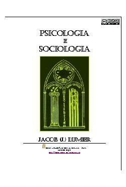 Psicologia e sociologia: o sociólogo como profissional das ...