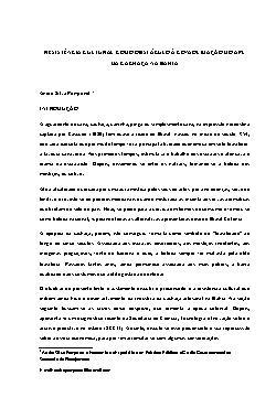 Resistência cultural como obstáculo à consolidação do APL  ...