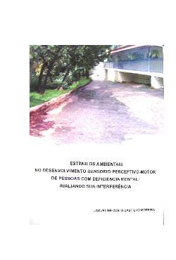 Estímulos ambientais no desenvolvimento sensório-perceptiv ...