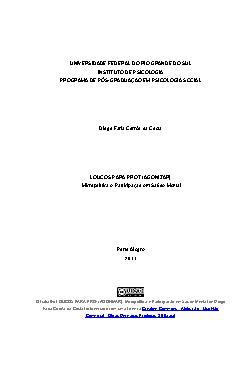 Loucos para Prot(agonizar) - micropolítica e participação  ...