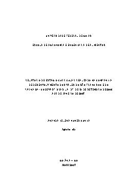 Relatório de estágio curricular realizado na companhia de  ...