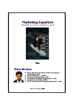 <font size=+0.1 >Marketing Esportivo</font>
