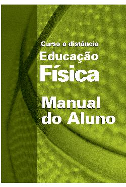 Educação Física a Distância - Manual do aluno