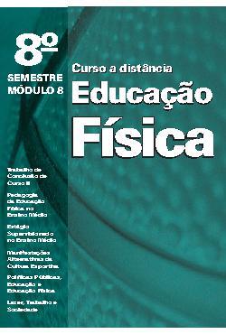 Educação Física a Distância - Módulo 8