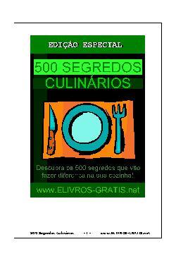 <font size=+0.1 >500 segredos culinários</font>