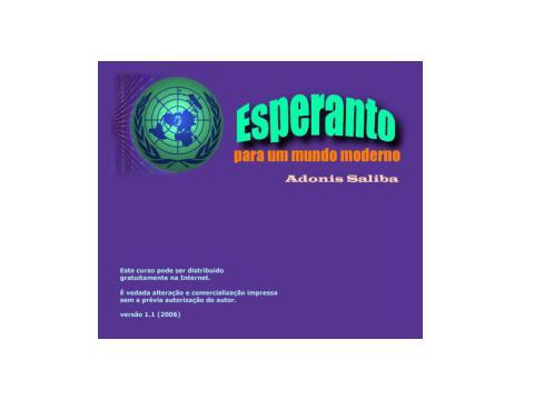 <font size=+0.1 >Esperanto</font>