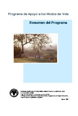 Programa de Apoyo a los Modos de Vida Sostenibles