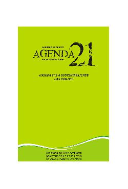 Agenda 21 - Cadernos de debates