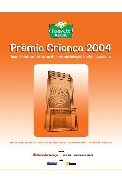 Catálogo finalista - Prêmio criança 2004