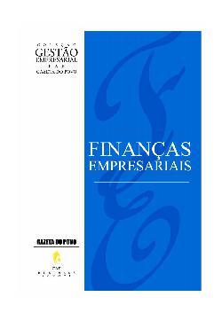 <font size=+0.1 >Finanças empresariais</font>